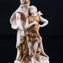 Статуэтка из фарфора Зигфрид и Брунгильда, миниатюра, Scheibe-Alsbach, Германия, нач. 20 в.