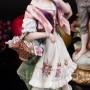 Фарфоровые статуэтки Цветочница и кавалер, Япония, вт. пол. 20 века.
